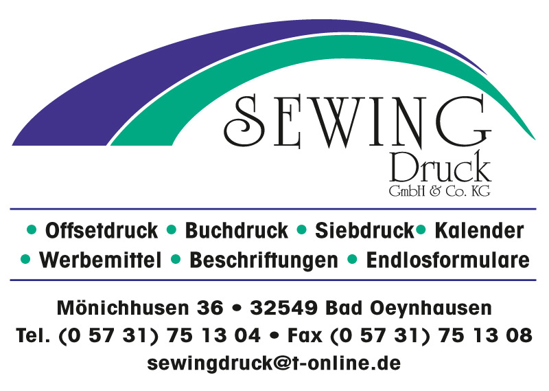 Sewing Druck